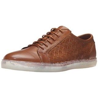 Zanzara Mens Fader Leather Woven Derby Shoes