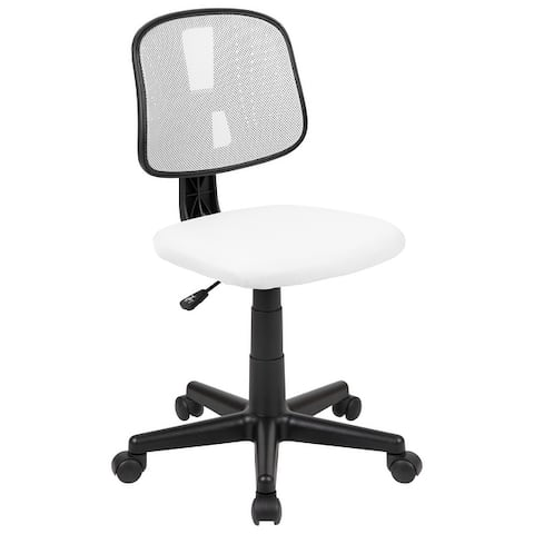 Mid-Back Mesh Swivel Task Office Chair with Pivot Back
