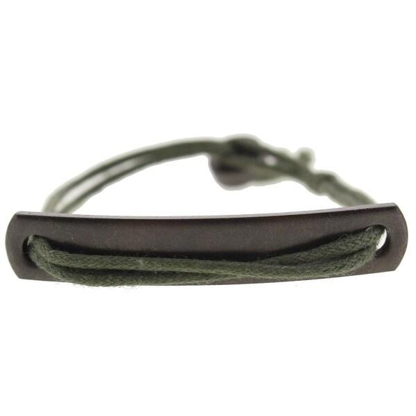 Kenneth Cole New York Mens Bracelet Slip On Fashion - Green