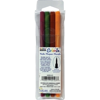 Color In Brush Tip Markers 4/Pkg-Natural - Natural