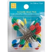 Size 32 75/Pkg - Flower Head Pins