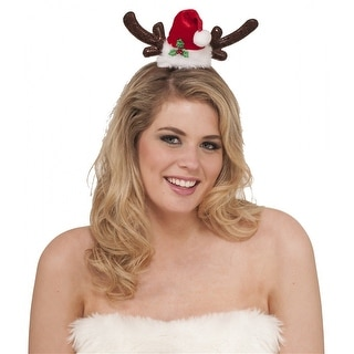 Santas Reindeer Headband Adult Costume Accessory