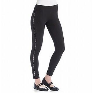 Marc New York NEW Black Womens Size Small S Studded Legging Pants