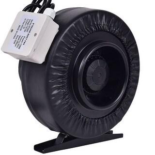 Costway 6'' Inline Duct Fan Hydroponics Exhaust Cooling Fan Blower Strong CFM