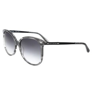 Juicy Couture - Juicy 590/S 07C5 Black Crystal Square Sunglasses - 56-17-140