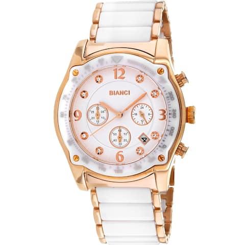 Roberto Bianci Women's Simona White Dial Watch - RB58741