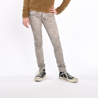 Sara Superslim Pants - earl gray (Option: 12)