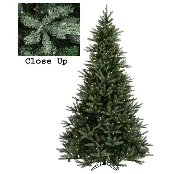 4.5' Pre-Lit Natural Frasier Fir Artificial Christmas Tree - Clear Lights