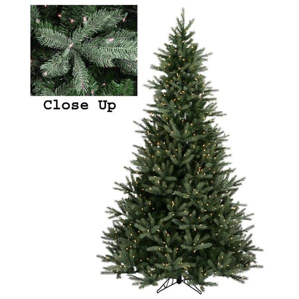 6.5' Pre-Lit Natural Frasier Fir Artificial Christmas Tree - Clear Lights