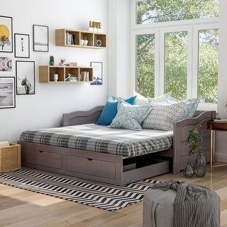 Link to Furniture of America Adele Expandable 2-drawer Sleeper Daybed Similar Items in Kids' & Toddler Furniture