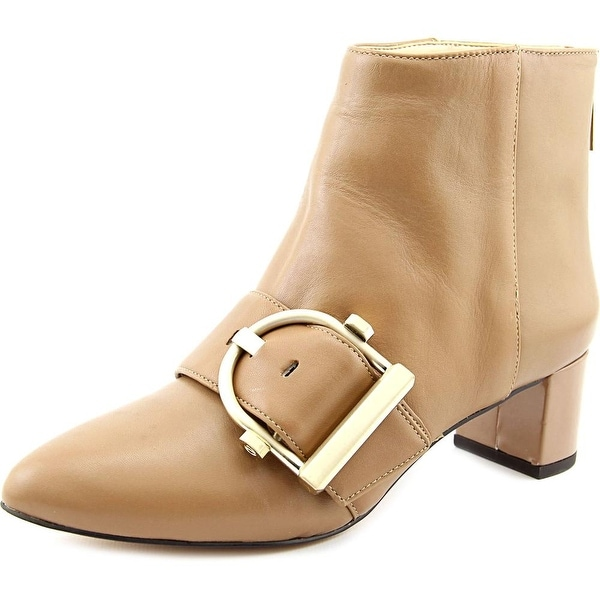 Nine West Konah Pointed Toe Leather Bootie