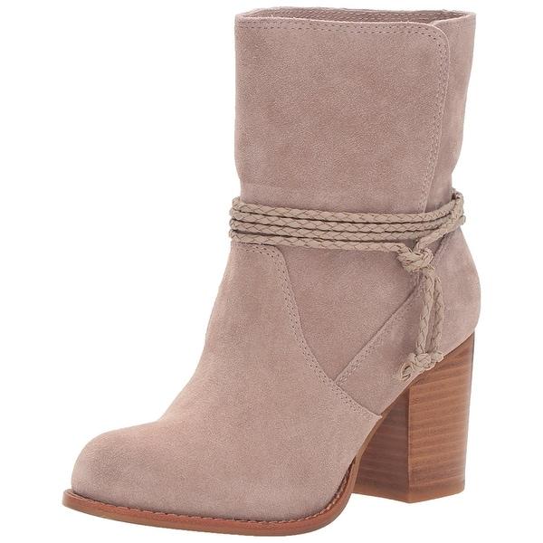 Splendid Women's SPL-Larchmonte Ankle Bootie, Taupe, Size 10.0