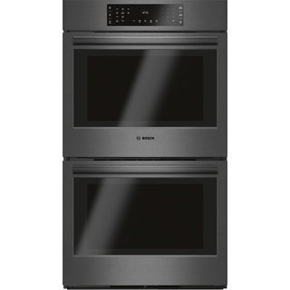 """Bosch HBL86 30"""" 9.2 Cu. Ft. Double Wall Oven with European Convection from the 800 Series - N/A"""