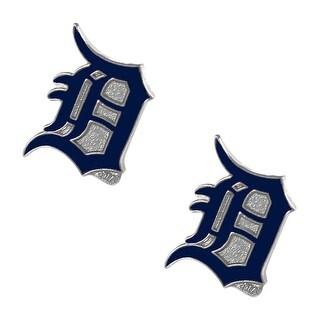 Detroit tigers Post Stud Logo Earring Set MLB Charm