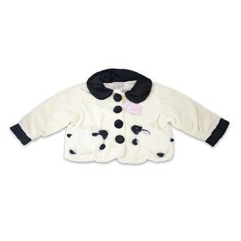 Fuzzy Wear Cream Lamb Jacket Size 12-18 Months