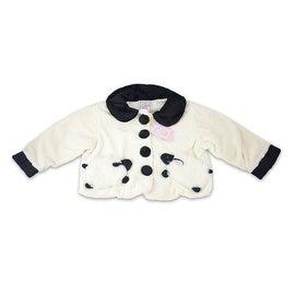 White Fuzzy Wear Lamb Jacket 18-24 Months