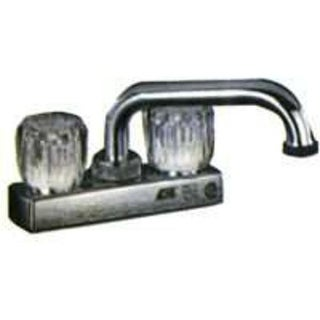 Toolbasix PF4203A Non-Metallic Two Handle Laundry Faucet, Chrome