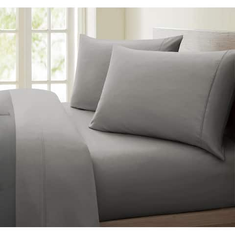 Oxford Collection 600 Thread Count Deep Pocket Egyptian Quality Cotton Solid Sheet Set