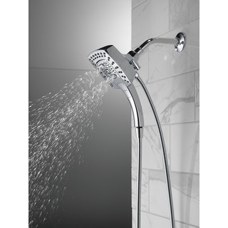 Delta Universal Showering Components H2Okinetic® In2ition® 5-Setting Two-in-One Shower (58474-25)