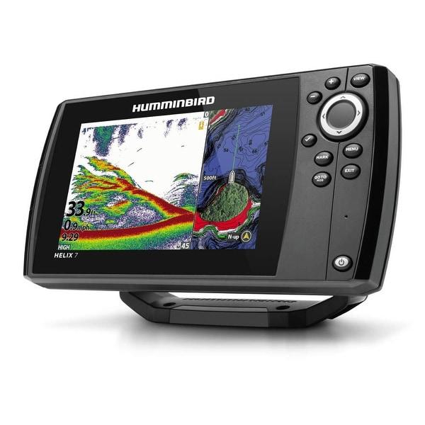 Humminbird HELIX 7 CHIRP MEGA SI Fishfinder//GPS Combo G3 w//Transom... 410950-1