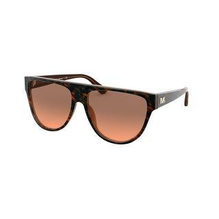 Link to Michael Kors MK2111 355518 57 Brown Leopard Woman Irregular Sunglasses Similar Items in Women's Sunglasses