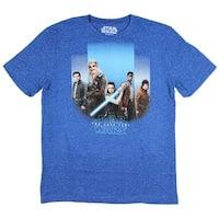 Star Wars The Last Jedi Mens Rebel Forces Speckled T-Shirt