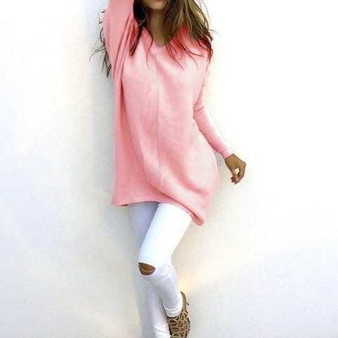 Stylish Loose-Fit Sweater Is Perfect For Keeping Warm