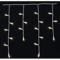 Celebrations 7003009S-01AC Mini White LED Light String, 10.5'