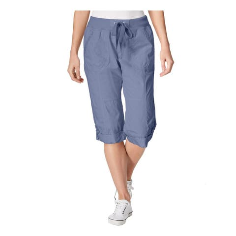 Calvin Klein Performance Womens Capri Pants Convertible Cargo