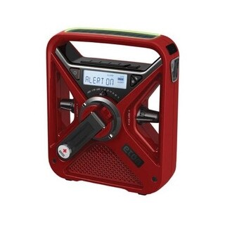 Eton ARCFRX3WXR American Red Cross Dynamo Solar-Crank Radio