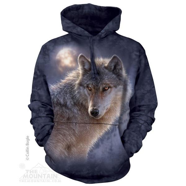 Adventure Wolf Hoodie Adult Hoodie