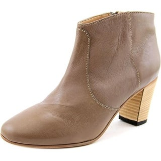 Johnston & Murphy Etta Pointed Toe Leather Ankle Boot