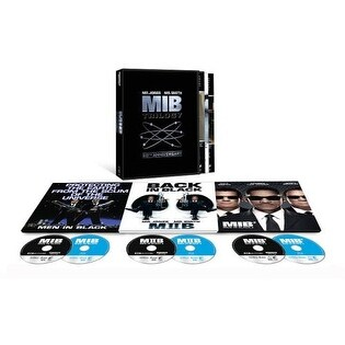Men in Black Trilogy: 20th Anniv. Ed. - 4K Ultra HD Blu-ray