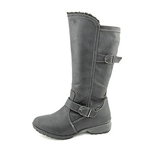 Sporto Womens Tall Boot with Buckle Detail