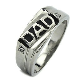 Stainless Steel Daddy's Ring
