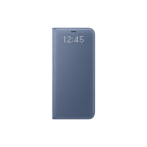 Samsung Galaxy S8 LED Wallet View, Blue