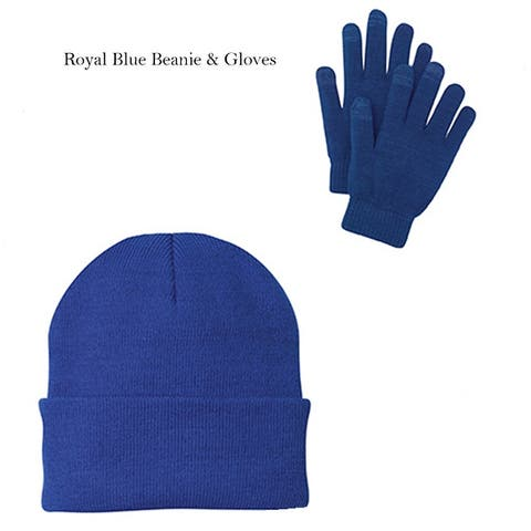 One Country United Beanie & Gloves Combo