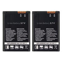 New Replacement Battery LGIP-520NV / SBPL0099202 / Lithium Ion 3.7V For LG Phone Models ( 2 Pack )