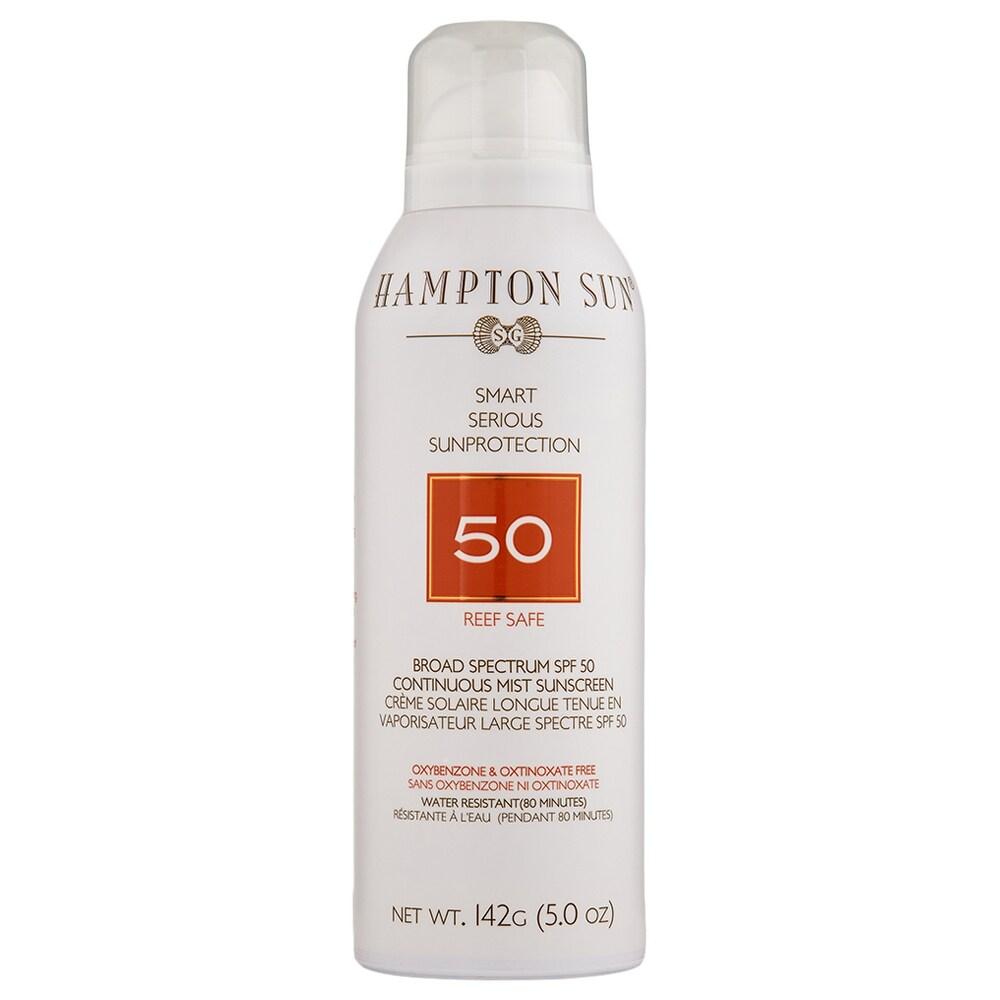 Hampton Sun SPF 50 Continuous Mist 5 oz (White - Body Sunscreen)