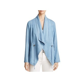 Bagatelle Womens Jacket Chambray Draped (4 options available)
