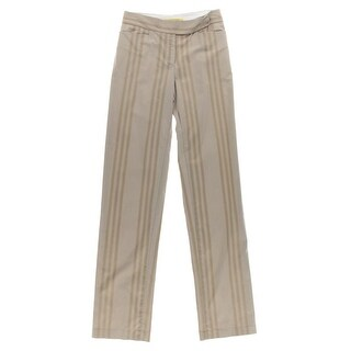 Catherine Malandrino Womens Twill Striped Casual Pants - 4