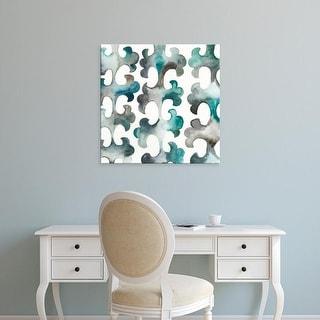 Easy Art Prints Chariklia Zarris's 'La Mer VIII' Premium Canvas Art