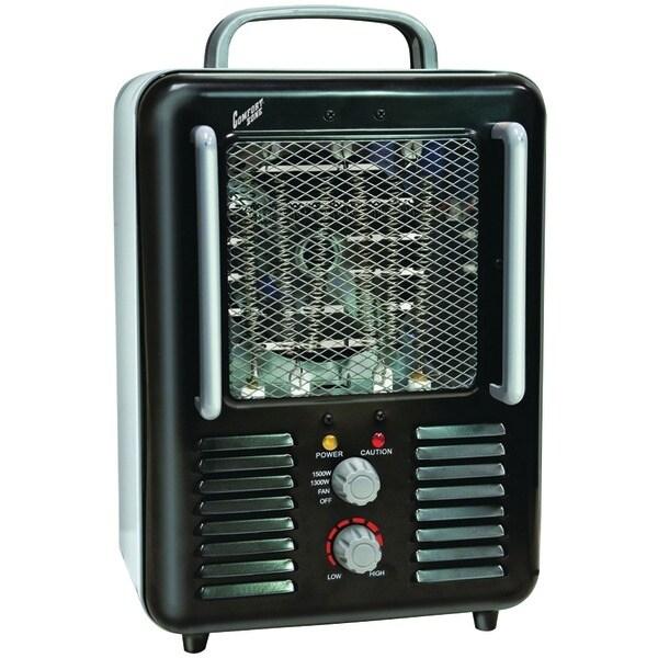 Comfort Zone Cz798Bk Deluxe Milkhouse Heater/Fan