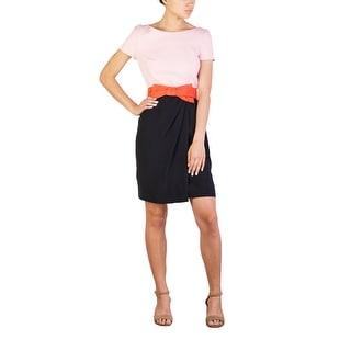 Prada Women's Acetate Viscose Blend Dress Two Tone - 8