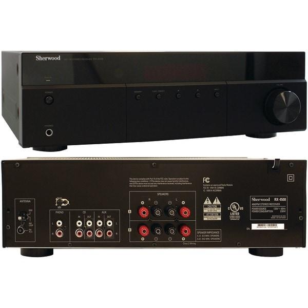 Sherwood Rx-4508 200-Watt Am/Fm Stereo Receiver With Bluetooth(R)