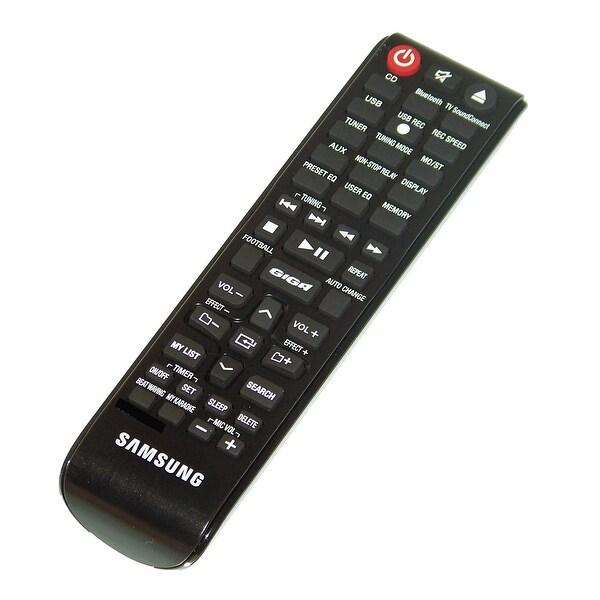 OEM Samsung Remote Control: MXJ630, MX-J630, MXJ630/ZA, MX-J630/ZA, MXJS5000, MX-JS5000, MXJS5000/ZA, MX-JS5000/ZA