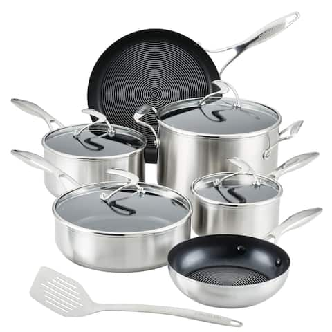Circulon Stainless Steel Set with SteelShield Technology, 11-pc