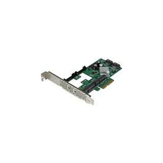 StarTech PEXMSATA3422 StarTech.com 2 Port PCI Express 2.0 SATA III 6Gbps RAID Controller Card w/ 2 mSATA Slots and HyperDuo SSD