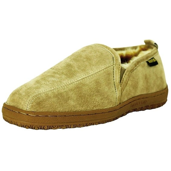 e97e1e8fd24 Shop Old Friend Slippers Mens Sheepskin Romeo Moccasin Chestnut - Free  Shipping Today - Overstock - 15380318