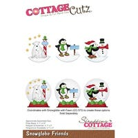 "Cottagecutz Die-Snowglobe Friends 2"" To 2.4"""